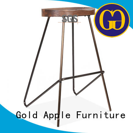 Gold Apple tropical bar stools commercial coffee shop furniture