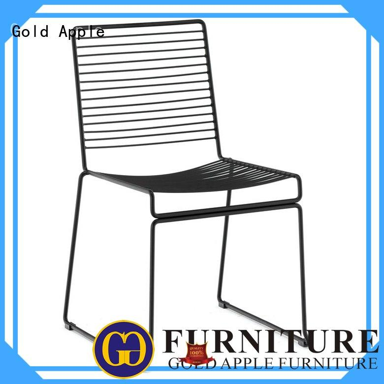Gold Apple on-sale stacking office chairs durable for restaurant