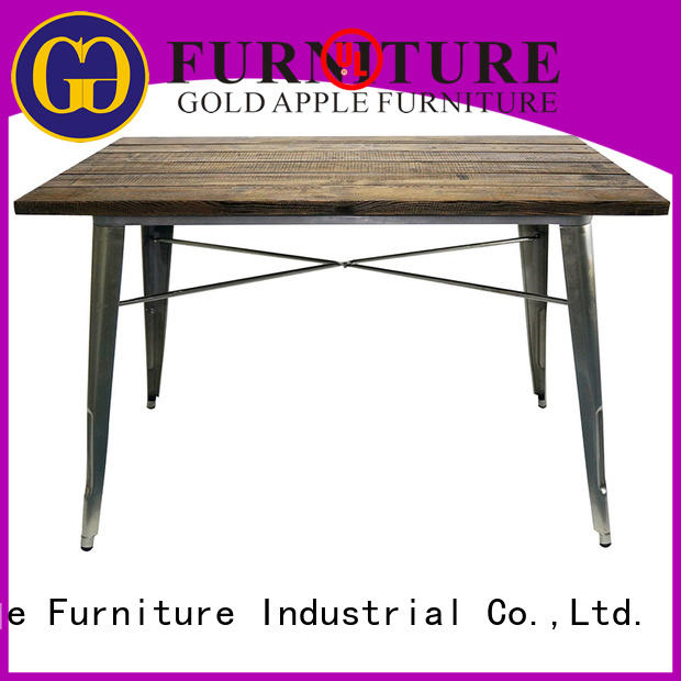 chic design round kitchen dining table commercial at discount Gold Apple