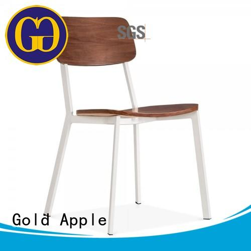 indoor aluminum stacking chairs french for furniture Gold Apple
