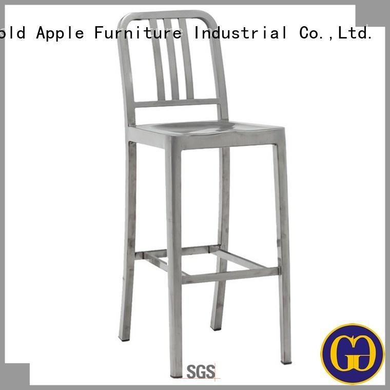 outdoor garden stool industrial wedding furniture Gold Apple