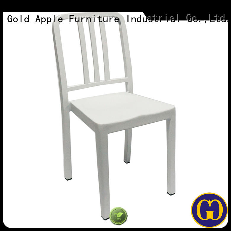 Gold Apple on-sale stacking dining chairs classic design for furniture