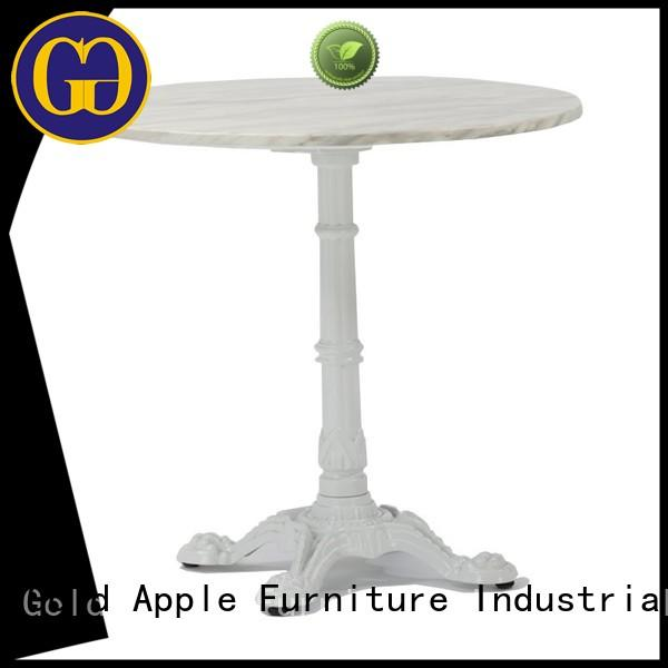 Gold Apple industrial garden furniture table top for dining room