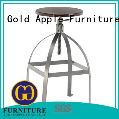 Gold Apple hydraulic bar stool commercial adjustable height