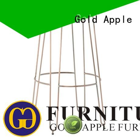 Gold Apple adjustable height counter stool set dinning room with armrest