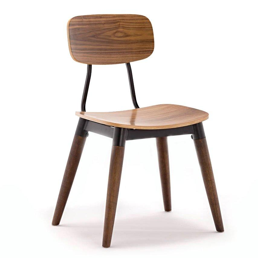 Cafe Furniture Plywood Coffee Shop Copine Wooden Chairs GA2001C