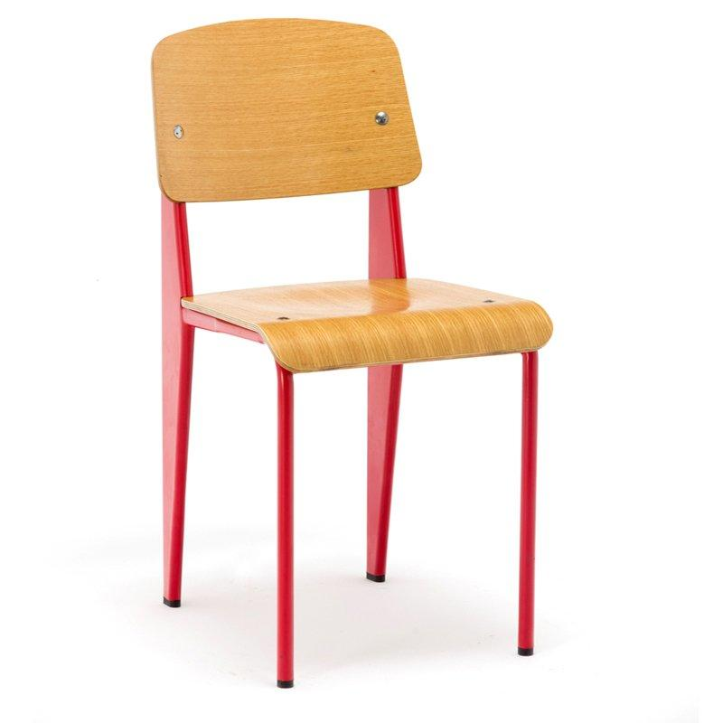 Replica Jean Prouve Plywood Standard Dining Chairs GA1701C