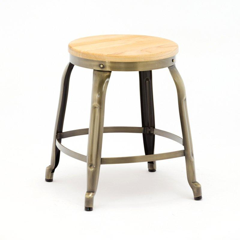 Buck Low Stool with Rotating Height Adjust GA301C