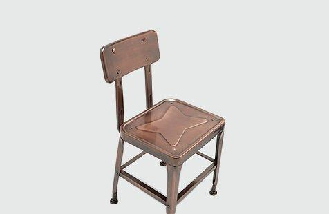 Restaurant Furniture Industrial Metal Restaurant Chair 501C