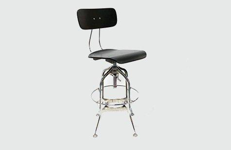 Commercial High Vintage Mental Industrial Bar Stools GA402C-65STW