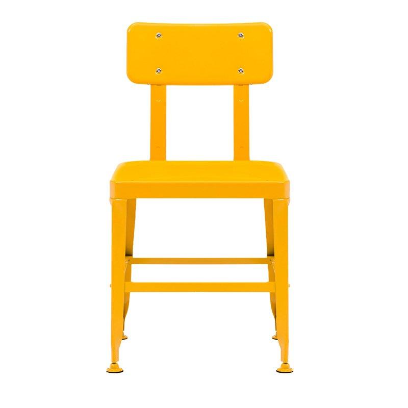 Modern Industrial outdoor Metal cafe Dining Chair Steel cafe Chair Multi Color Stackable outdoor Metal Chair  GA501C-45ST