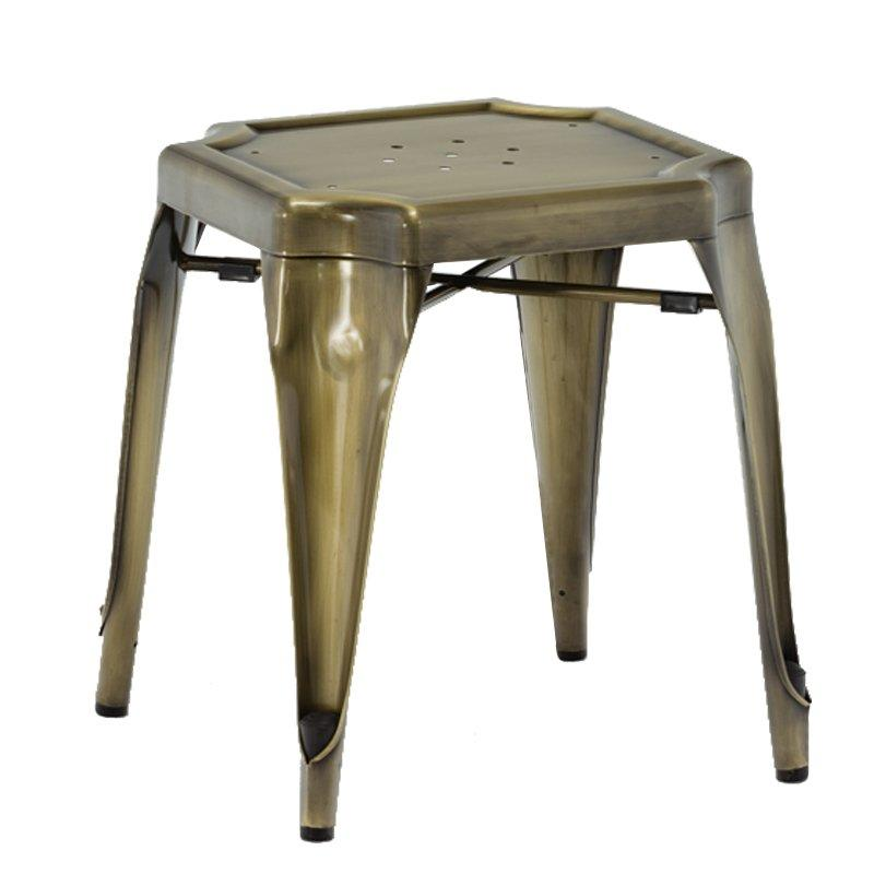 French Style Metal Low Stool GA2101BC-45ST