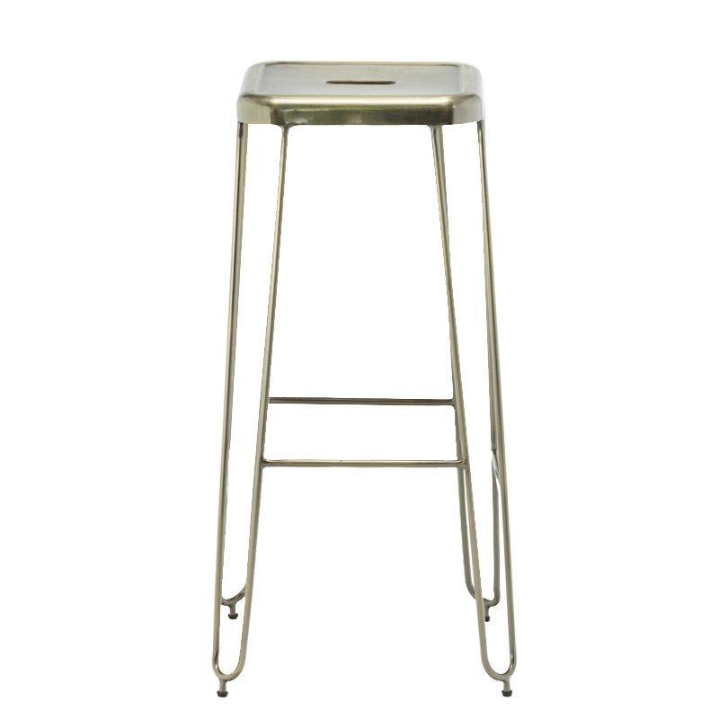 Metal leg Bar Stools Modern Dinning Counter Chair bar stool high chair sale GA302C-75ST