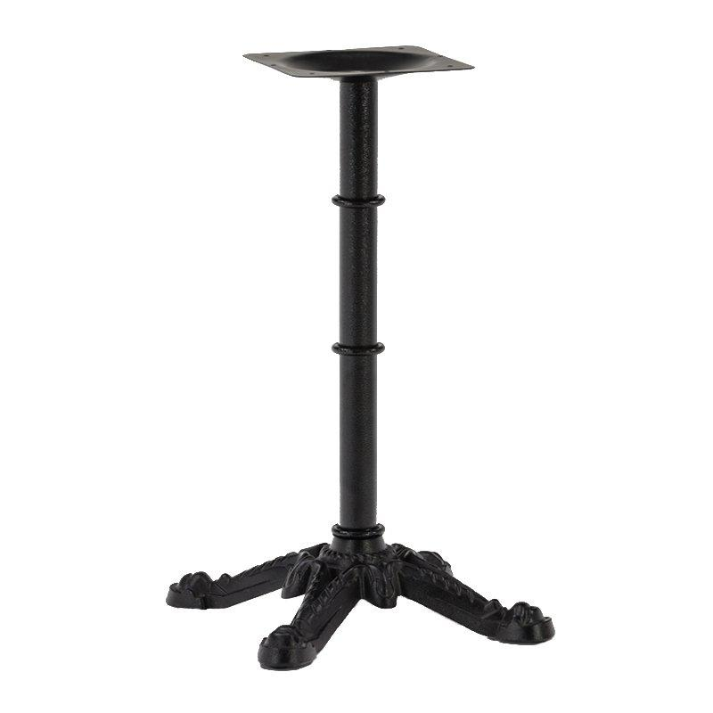 Wholesale restaurant black antique cast iron dining table base GA3202TB-2
