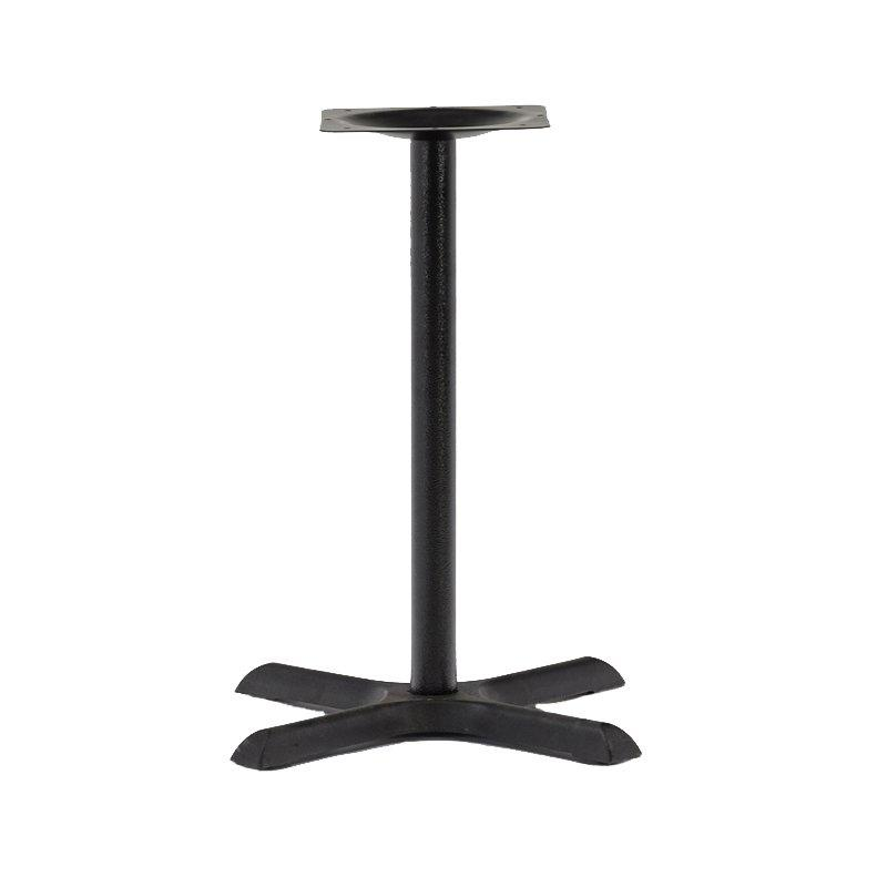rench bistro restaurant dining table base cast iron in black GA3802TB
