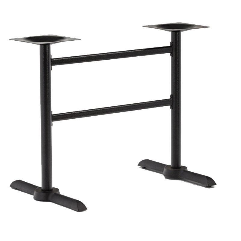Wholesale Black Metal Double Table Legs GA3803TB