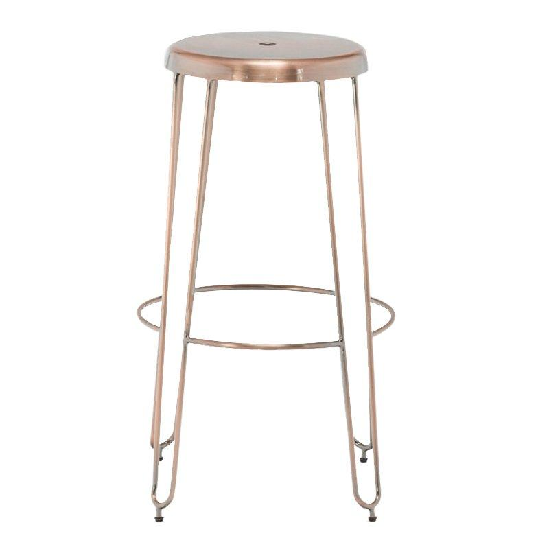 Fashion Copper Wire Metal Bar Stool GA302C-75ST