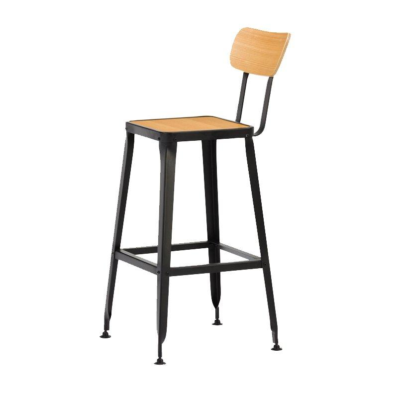 Wood Bar Stool Used Commercial Bar Stools GA501C-75STPW