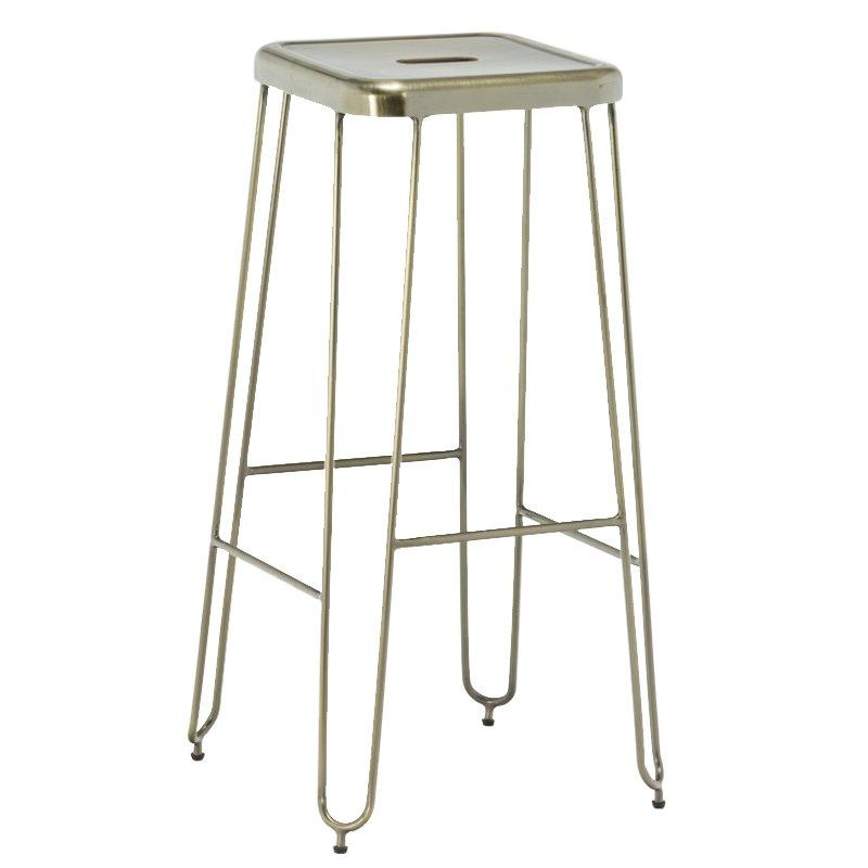 Cheap Morden Furniture Bar Stools 75cm Metal Stool GA203C-75ST