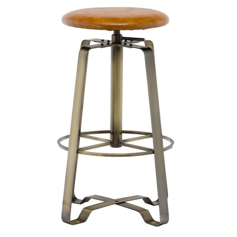 Counter Stool with PVC Cushion GA607C-65STP