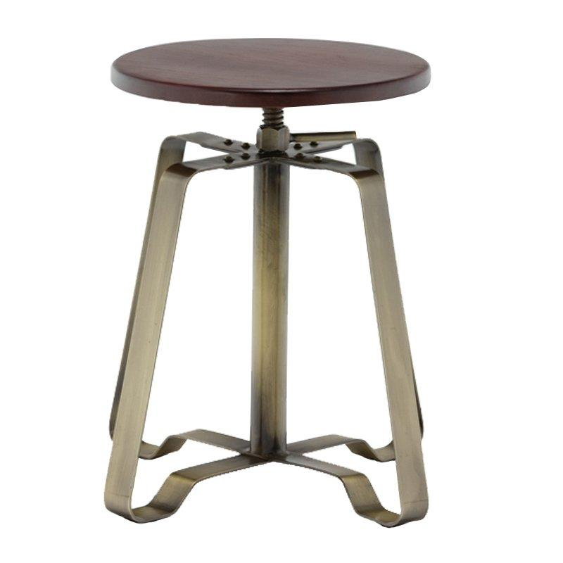 adjustable bar stools cafe tables and chairs GA607C-45STW