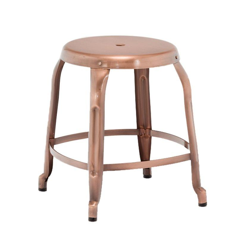 Steel Low Round Seat Stool GA301C-45ST