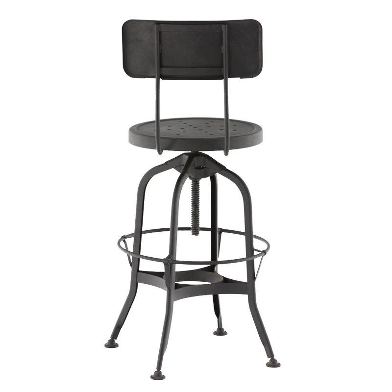High Pub Stool with Height Adjustable GA403BC-65ST