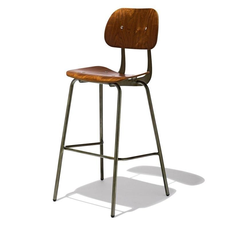 Designer Furniture Plywood Stool GA3501C-75STW