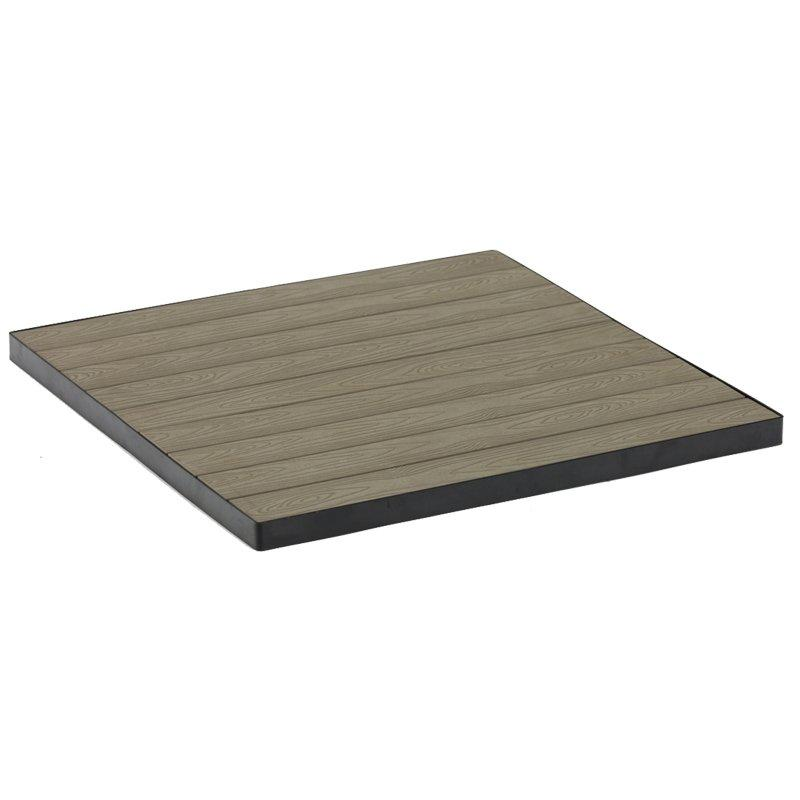 High Quality Outdoor Plastic Wood Table Top GA30TT