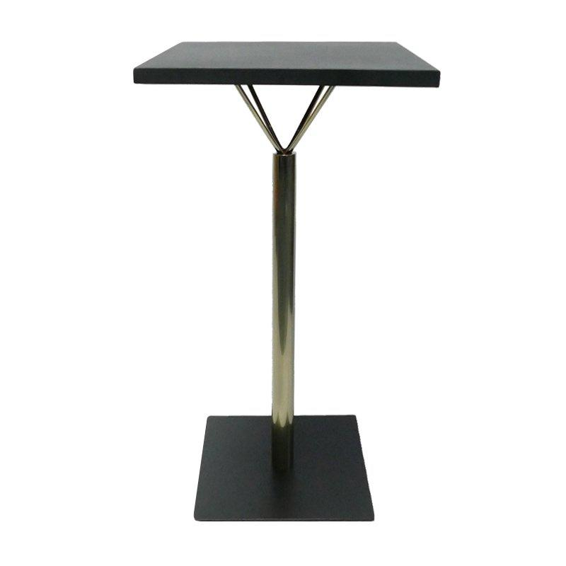 Furniture Parts Square Bar Height Iron Table Base GA2201BT