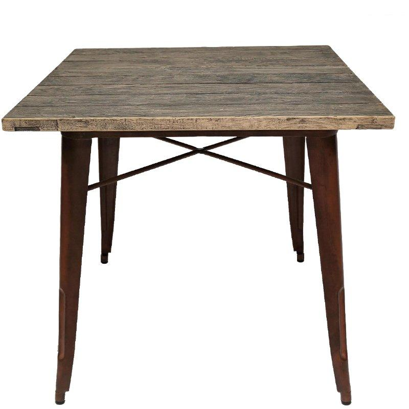 luxury large round wood dining table high-quality for catering