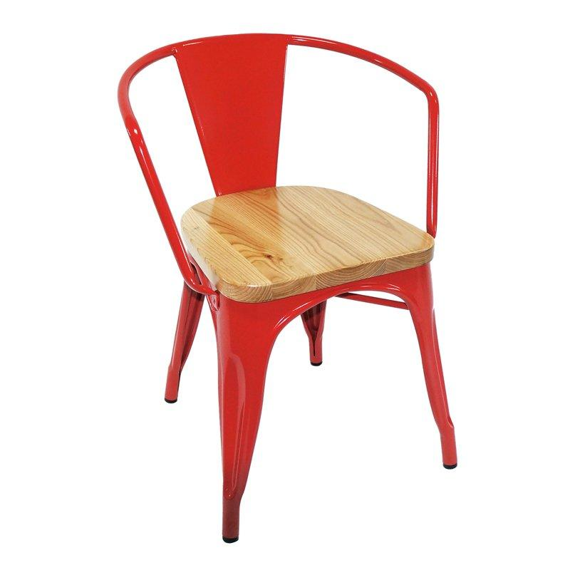Marias Design Wooden Seat Dining Chair GA103C-45STW
