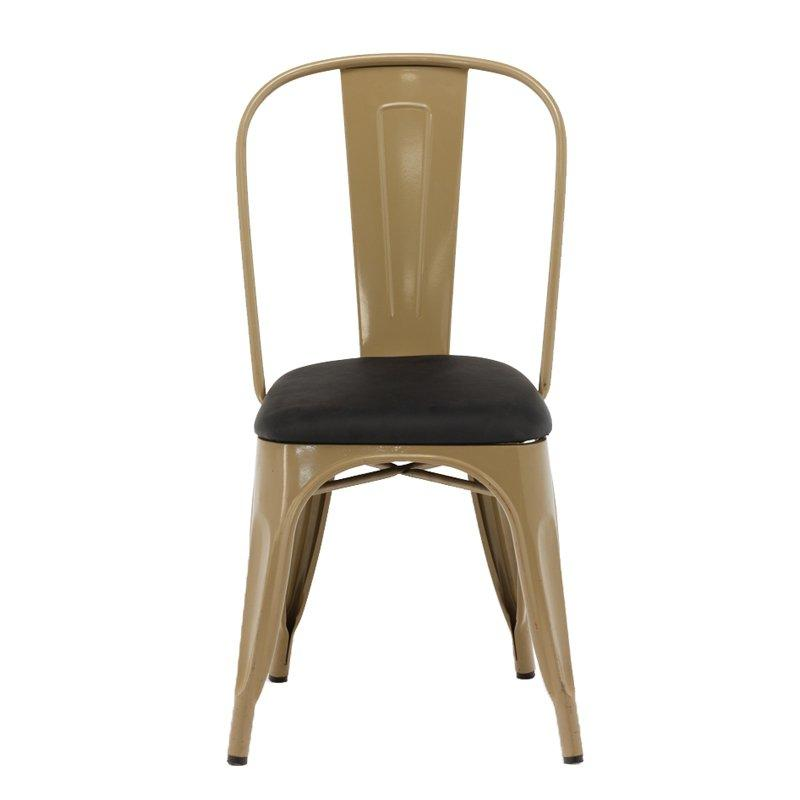 Gold Apple antique heavy duty stacking chairs french coffee shop