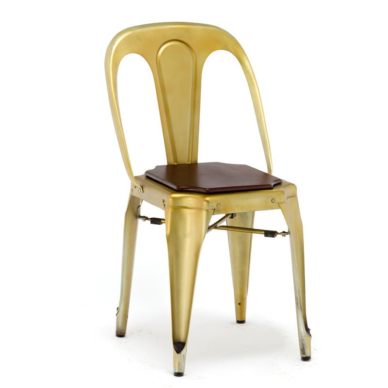 simple modern stacking chairs modern for furniture Gold Apple