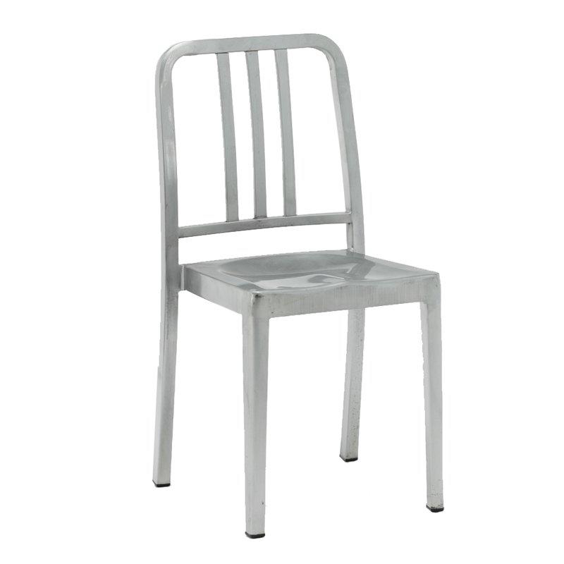 Stackable Metal Chair Cafe Dining Chairs GA1002C