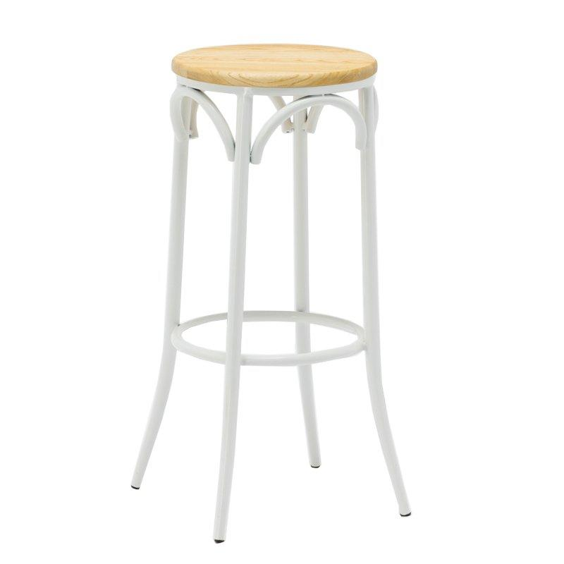 High Metal Bentwood Bar Stool GA901ST-75STW