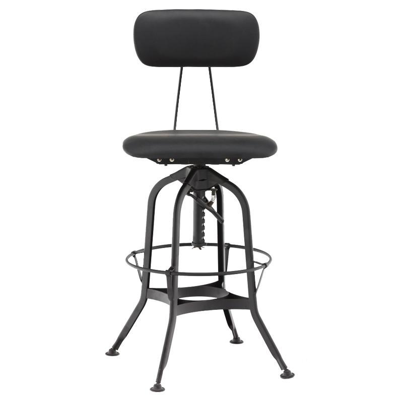 Vintage Retro Toledo Bar Chair/ Metal Vintage Toledo Stool GA402C-65STP
