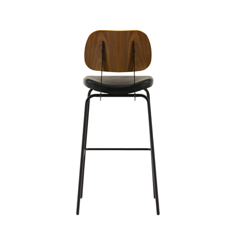 Vintage Bar Chair Industrial Bar Stool With Cushion GA3501C-75STP