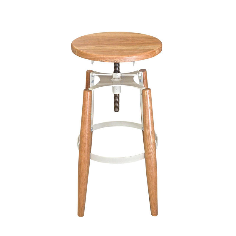 Wood Top Seat Commercial Bar Stool GA604C-65STW