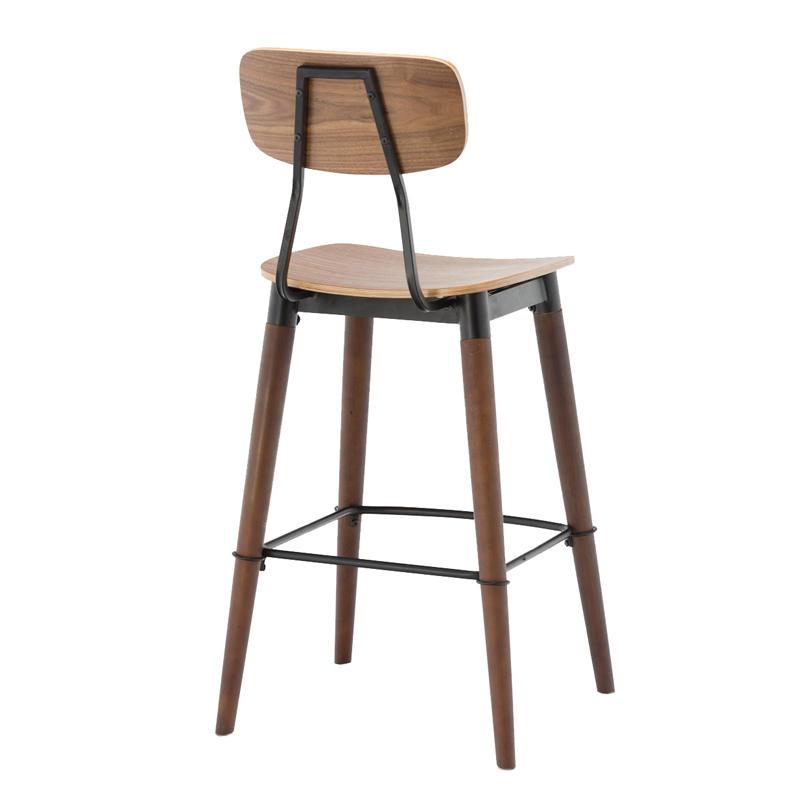 Project Bar Furniture Wooden Bar Stool GA2001C
