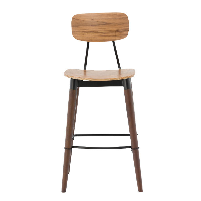 Vintage Wooden Copine Bar Stool GA2001C-75STW