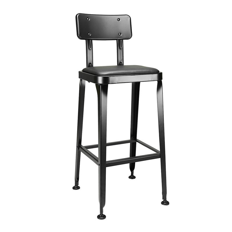 Commercial Industrial Furniture Metal Backless Swivel Bar Stool/ Adjustable Counter Stools GA501C-65STP