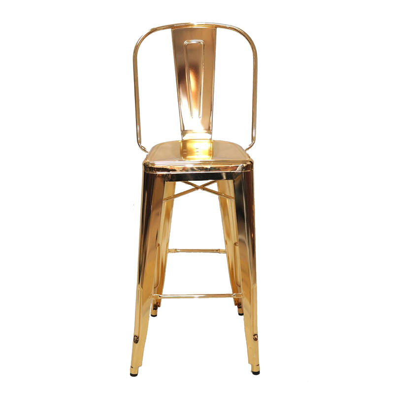 CheapTall wooden amrest bar stool tuffed pub bar chair counter bar stool GA101C