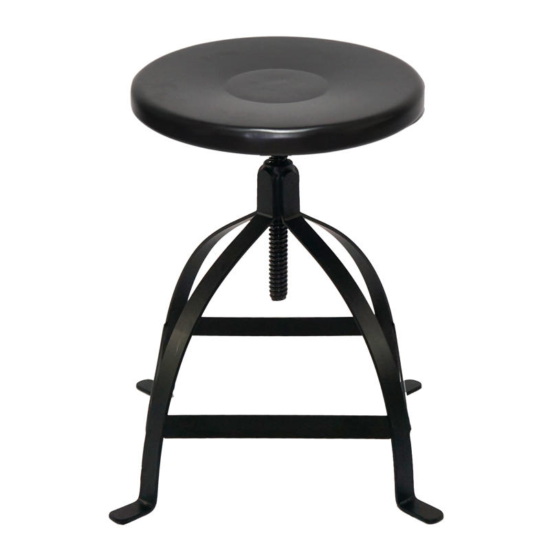 Steel Industrial Swivel low stool GA602C-45ST