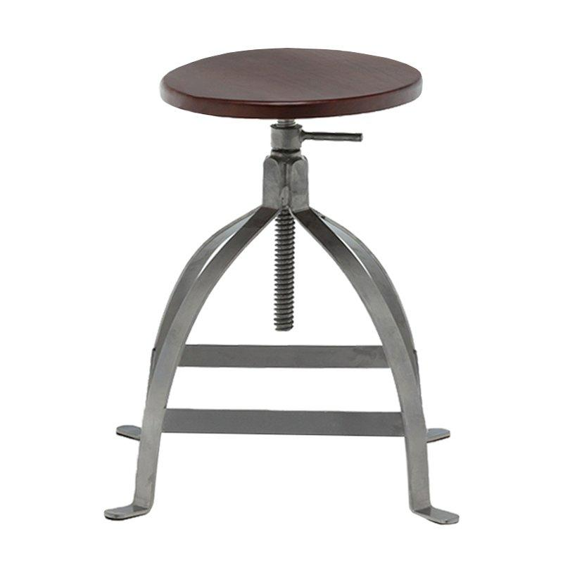 etal Low Stool/ Adjustable Height Rustic GA602C-45STW