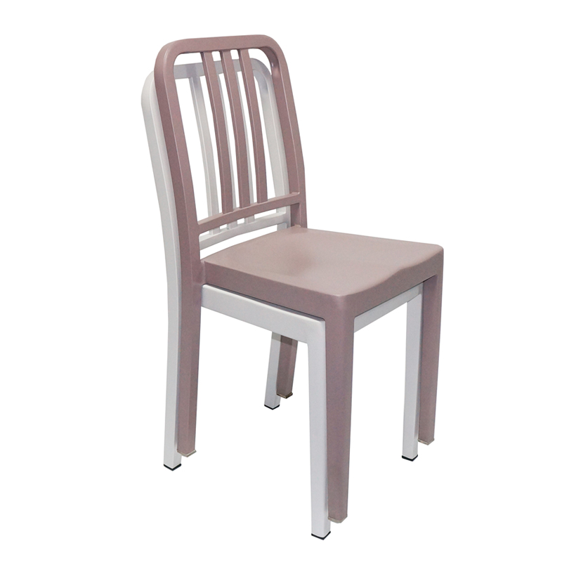 Gold Apple Metal Furniture Steel Restaurant Navi Chair GA1002C-45ST Stacking Chairs image18