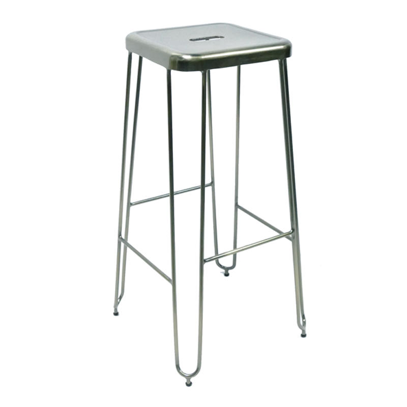 Outdoor High Metal Hairpin Bar stool GA203C-75ST