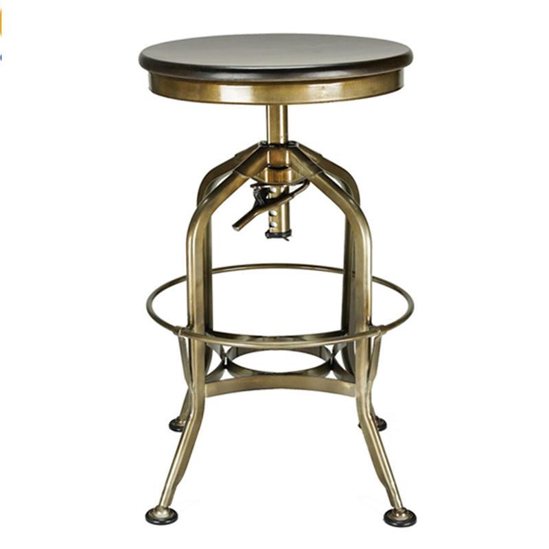 Bar Furniture High Metal Stool  GA401C-65STW