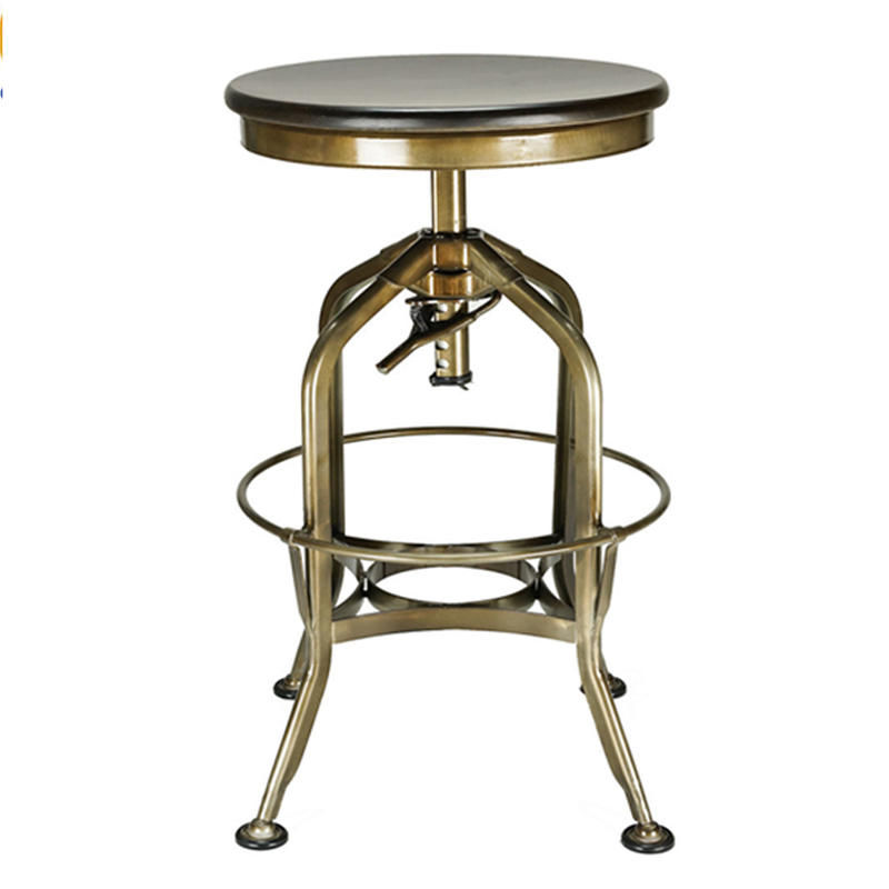 Bar Furniture High Metal Stool  GA401C-65STW