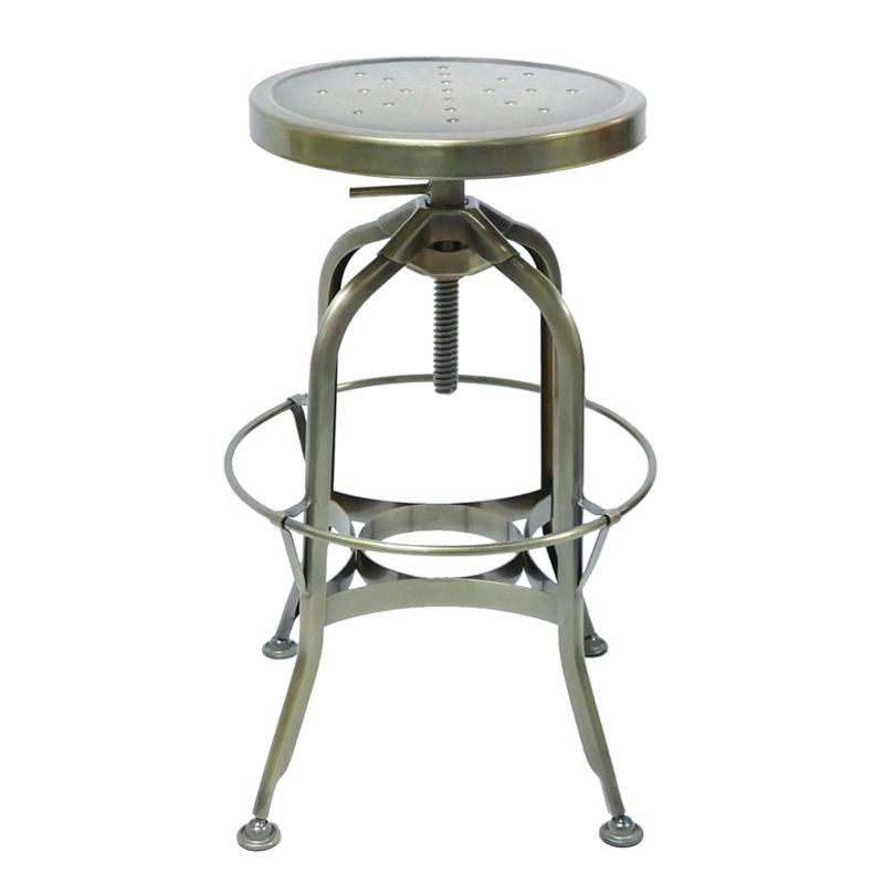 Wholesale Vintage Industrial Antique Style Barstool Metal Bar Stool GA403C-65ST